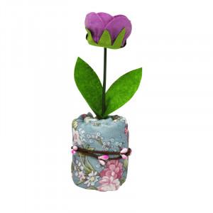 Floare mov catifea parfumata - Carbune activ bambus