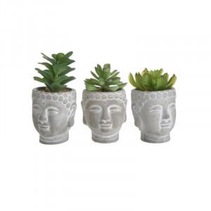 Flori decorative Buddha Head, Charisma, H17