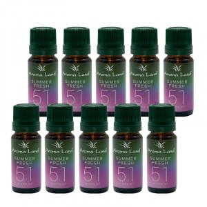 Pachet 20 uleiuri parfumate Summer Fresh, Aroma Land, 10 ml