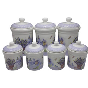 Set condimente 7 piese Lavender