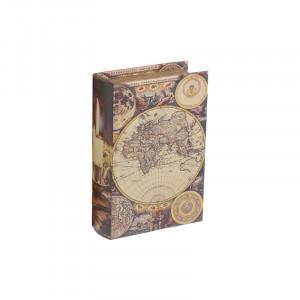 Caseta caseta decorativa Atlas, Charisma, Lemn, 14x4x20