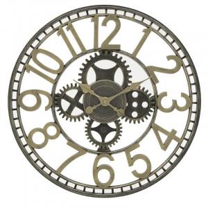 Ceas de perete Burgundy, Metal, Charisma, D50X4