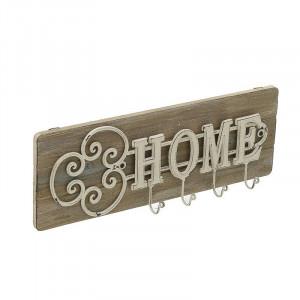 Cuier Home, Lemn&Metal, Charisma, 42x6x15 cm