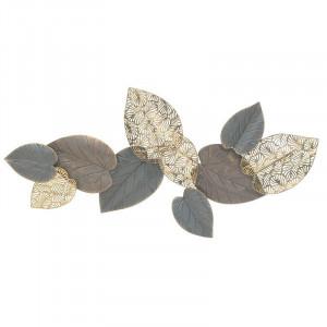 Decoratiune perete Autumn Leaves, Charisma, Metal, 120Χ5Χ60