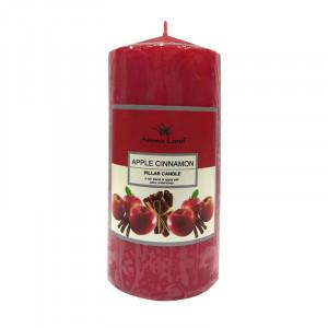 Lumanare festiva, Apple&Cinnamon, 55h