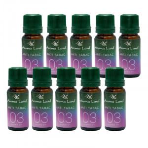 Pachet 20 uleiuri aromaterapie Antitabac, Aroma Land,10 ml