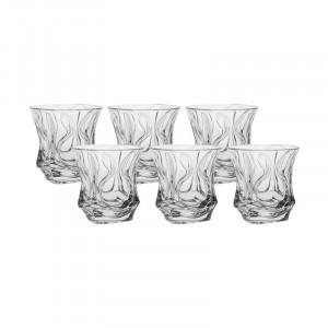 Set 6 Pahare Whiskey, Ocean, Cristal Bohemia, 300 ml