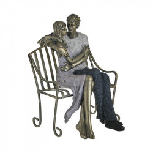 Statueta Couple's Bench, Charisma, Rasina, 22Χ19Χ28