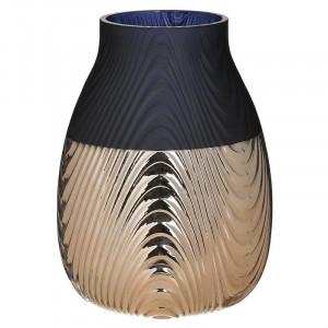 Vaza decorativa Blue Contrast, Charisma, D18X24
