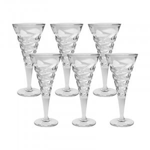 Set 6 Pahare Vin Dynamic, Cristal Bohemia, 230 ml
