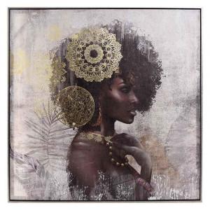 Tablou canvas printat Female Figure, Charisma, 80Χ5X80