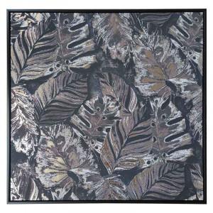 Tablou printat Jungle Leaves, Charisma, 80X80