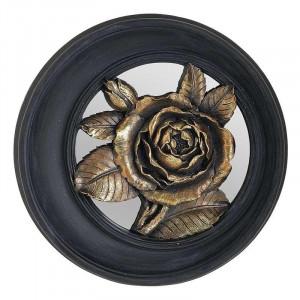 Decoratiune perete Golden Rose, Rasina, Charisma, D25X5