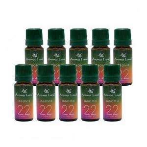 Pachet 10 uleiuri aromaterapie Iasomie, Aroma Land, 10 ml