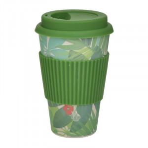 Pahar cu suport Bamboo, Charisma, 300 ml