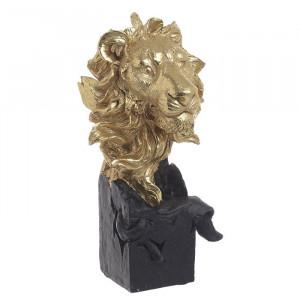 Statueta rasina Lion Head, Charisma, 12X11X23,5