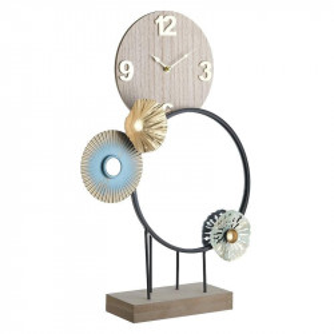Ceas de masa Circles of Time, Charisma, Metal, 35Χ10Χ50
