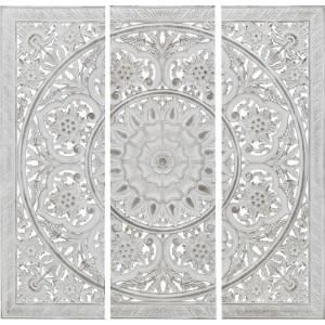 Decor perete Masala, Charisma, Lemn, 120X2X120