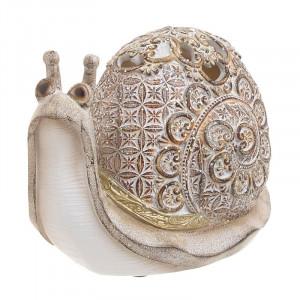 Decoratiune Golden Snail, Rasina Charisma, 16,5x9x12