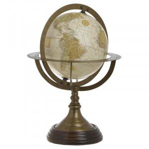 Glob Pamantesc Golden World, Charisma, Plastic&Metal, 20X20X30