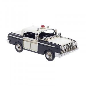 Macheta Vintage Police Car, Metal, Charisma,16,5Χ7,5Χ6,5