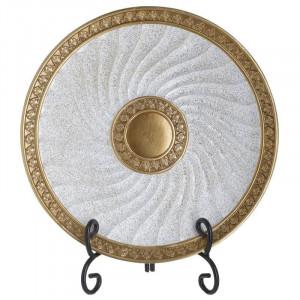 Platou decorativ Golden Hour, Charisma, Rasina, Φ30Χ4X34