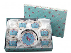 Set cafea expresso 6 persoane Roses
