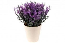 Buchet de flori decorative artificiale de lavanda