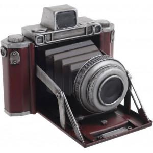 Macheta Vintage Camera, Charisma, Metal, 18.5X16.5X14