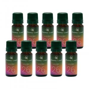 Pachet 10 uleiuri aromaterapie Liliac, Aroma Land, 10 ml