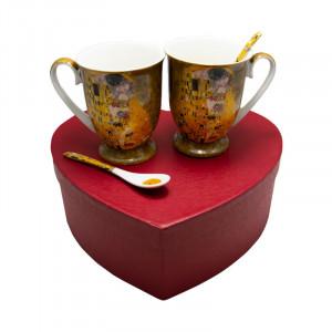 Set 2 Klimt Love, Charisma, Portelan, 300 ml