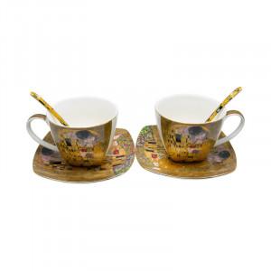Set 2 cesti Klimt, Charisma, Portelan, 150 ml
