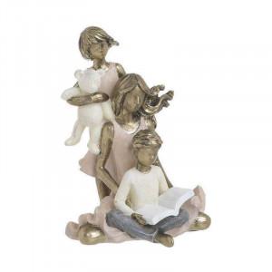 Statueta Mother&Kids, Charisma, 10X10X14