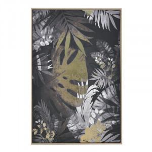 Tablou printat Jungle Leaves, Charisma, 60X90