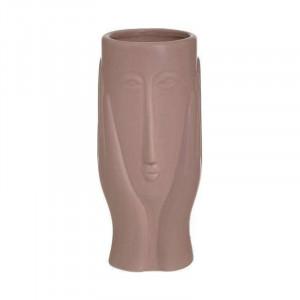 Vaza ceramica Pink Face, Charisma, Φ9Χ20