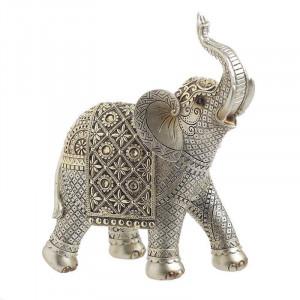 Elefant Rasina, Silver/Gold, Charisma, 22Χ10Χ25