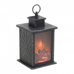 Felinar Warm Fireplace, Plastic, 14x14x24,5