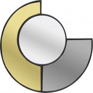 Oglinda decorativa MoonShine, Metal & Sticla, Charisma, 54x1x54