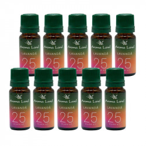 Pachet 20 uleiuri aromaterapie Lavanda, Aroma Land, 10 ml