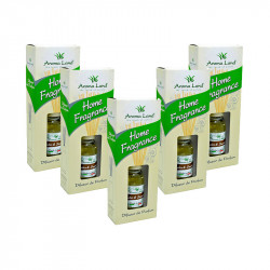 Pachet 5 reed diffuser Amber&Santal, 125 ml