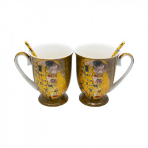 Set 2 cani Klimt Love, Charisma, Portelan, 300 ml