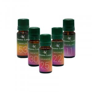 Set 5 uleiuri aromaterapie - pachet spa, Aroma Land, 10 ml