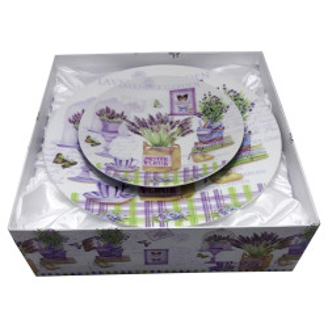 Set tort 7 piese Lavender