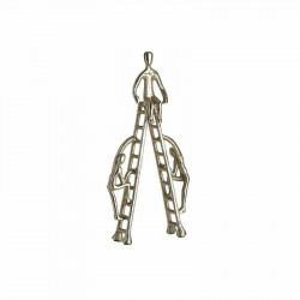 Statueta Golden Ladder, Metal, Charisma, 18Χ9Χ33