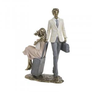 Statueta Honeymoon Trip, Charisma, Rasina, 18X9X26