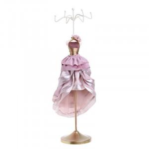 Suport bijuterii Pink Dress, Rasina, Charisma, 12Χ10Χ42
