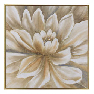 Tablou canvas White Flower, Charisma, 80X80