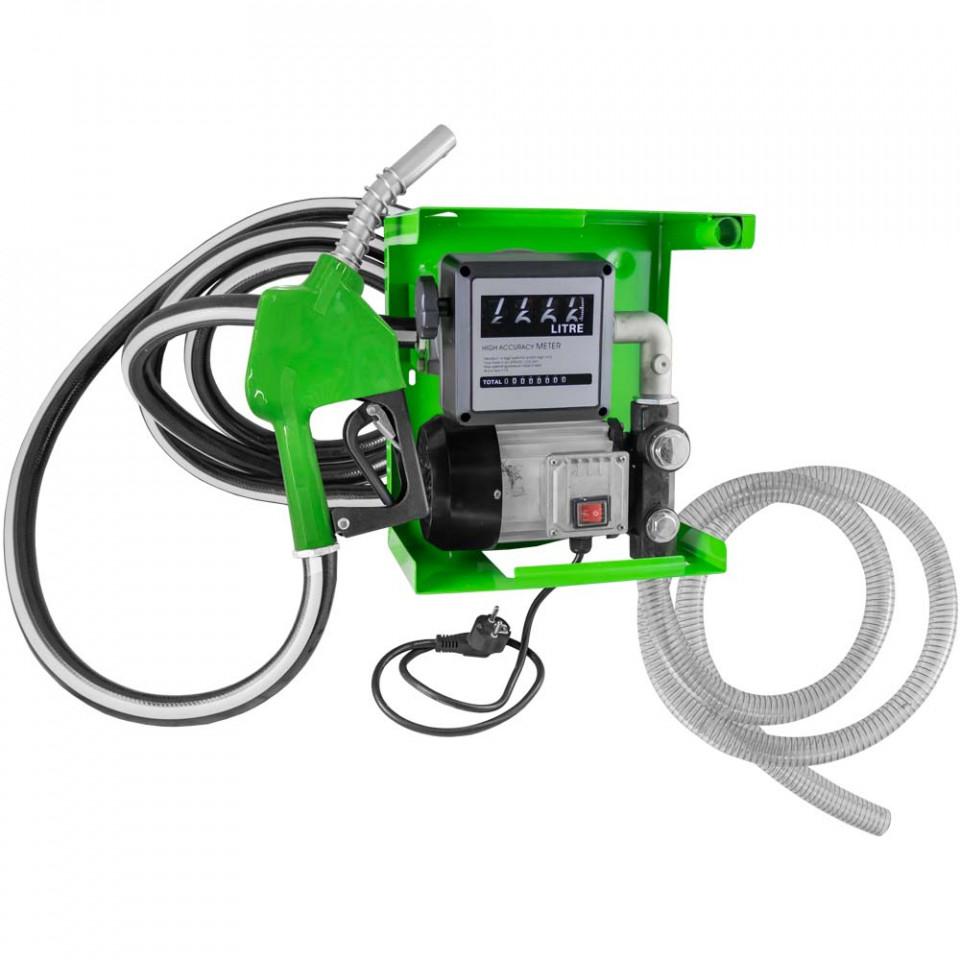 Pompa cu Dozator si Indicator pentru Pompare Motorina 200-240V, JBM