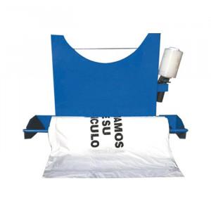 Set suport de perete + Material pentru protejarea vehiculelor