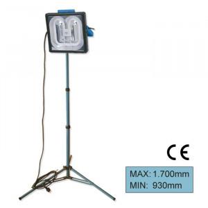 Stativ cu 3 picioare albastru pentru lampa de control